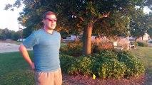 Un Daltonien voit les couleurs du coucher de soleil pour la première fois de sa vie !