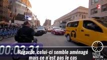Cette vidéo démontre à quel point il est difficile de se déplacer dans les grandes villes du monde lorsqu'on est en fauteuil roulant ! - 2015/08/17