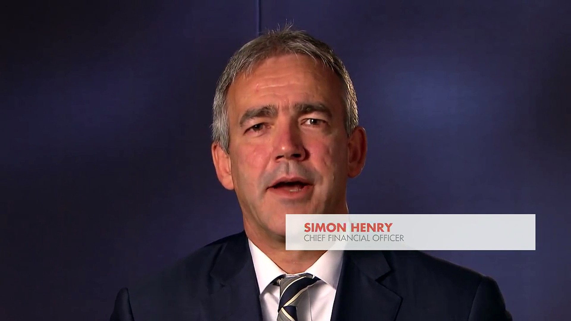 Simon Henry, CFO of Shell, comments on the Q1 2012 results
