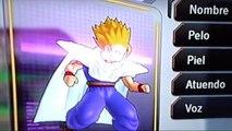 Creating Teen Gohan Ssj2 in DBZUT (DBZUT Hero Mode)
