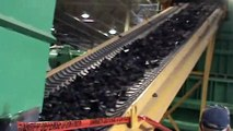 (Symbol:MDOR) Magnum Rubber Recycling Plant Showing Shreds to 25 Nugget and Crumb