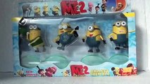Minions Toy Review | Despicable Me 2 Thinkway Singing Tim | Character Minion Toys For Kids
