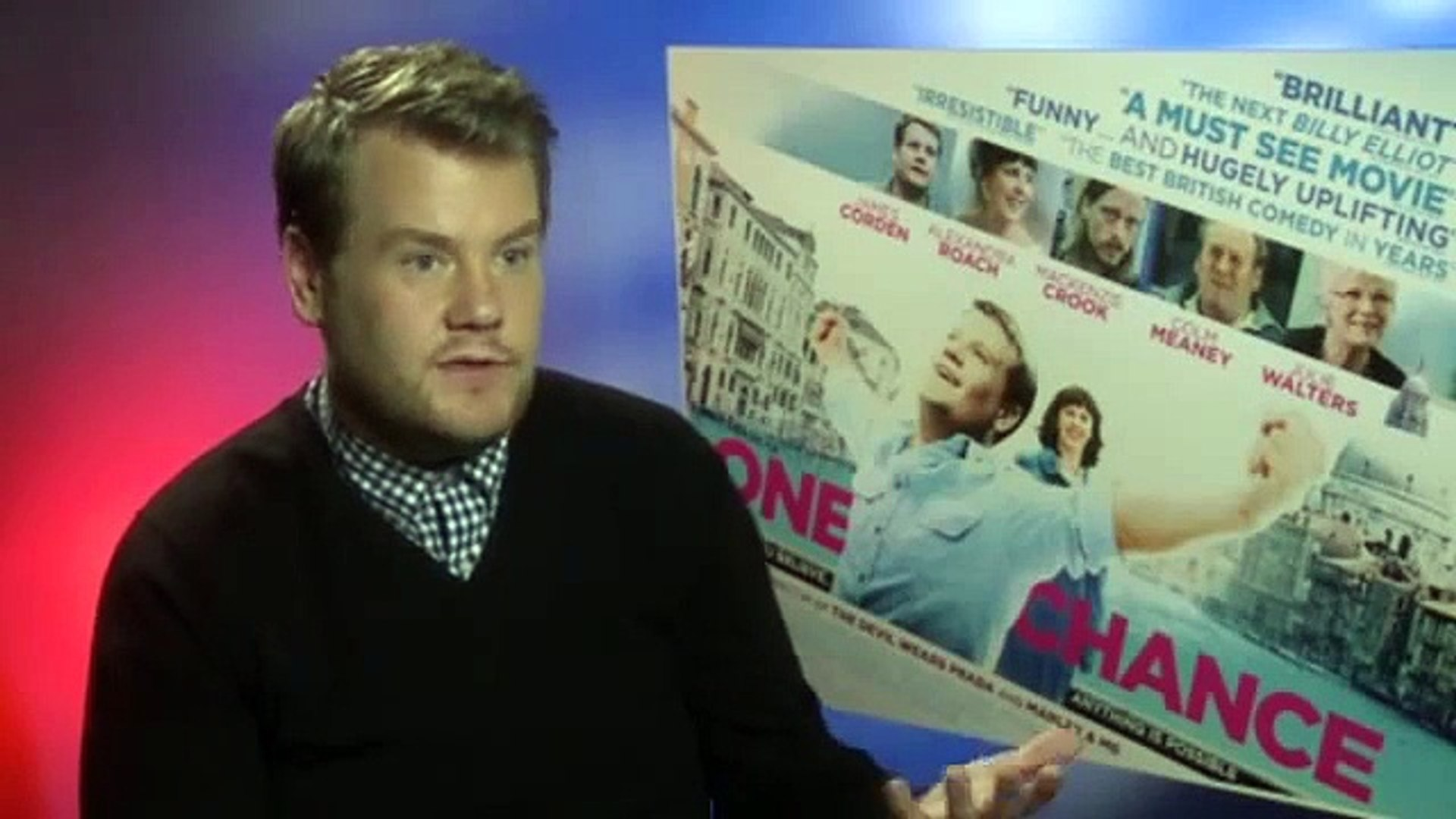 One Chance  James Corden On Playing Britain S Got Talent Star Paul Potts Interview   Film