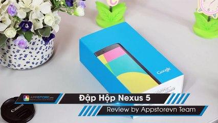 Mở hộp và đánh giá nhanh Google Nexus 5