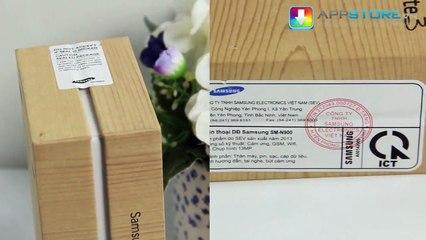 Mở hộp, đánh giá nhanh Samsung Galaxy Note 3