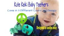 Kute Keiki Baby Teether Toys ★ Instant Teething Relief for Teething Symptoms