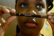 Lip Tutorial: Burgundy/Purple Lips Using An Eyebrow Pencil & Eyeliner??
