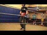 josh avalos sparring 11DEC08 Market Street Boxing