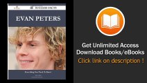 Evan Peters 46 Success Facts Everything You Need To Know About Evan Peters EBOOK (PDF) REVIEW