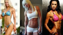 PERFECT Female Fitness Models  Female Bodybuilding MOTIVATION