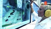 Engine room simulator interactive mimic presentation