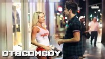 Kissing Prank - Pizza Guess At Hooters (GONE RIGHT) - Prank Invasion Kisses Girls At Hooters 2015