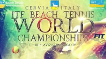 Crama - Melli / Carli - Cappelletti Mondiali Beach Tennis Cervia 2014 semifinale
