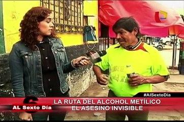 Un asesino invisible: La ruta del peligroso alcohol metílico