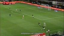 1-0 Keisuke Honda Amazing Goal HD _ AC Milan v. AC Perugia - Italian Cup 17.08.2015 HD
