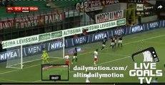 1-0 Keisuke Honda Amazing Goal AC Milan v. AC Perugia - Italian Cup 17.08.2015 HD