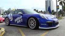 Crazy Supercars on goldRush Rally arrive in Florida! Bugatti Veyron, Lamborghini Aventador