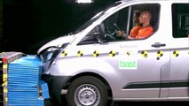 Ford Transit Custom achieves Euro NCAP five-star rating