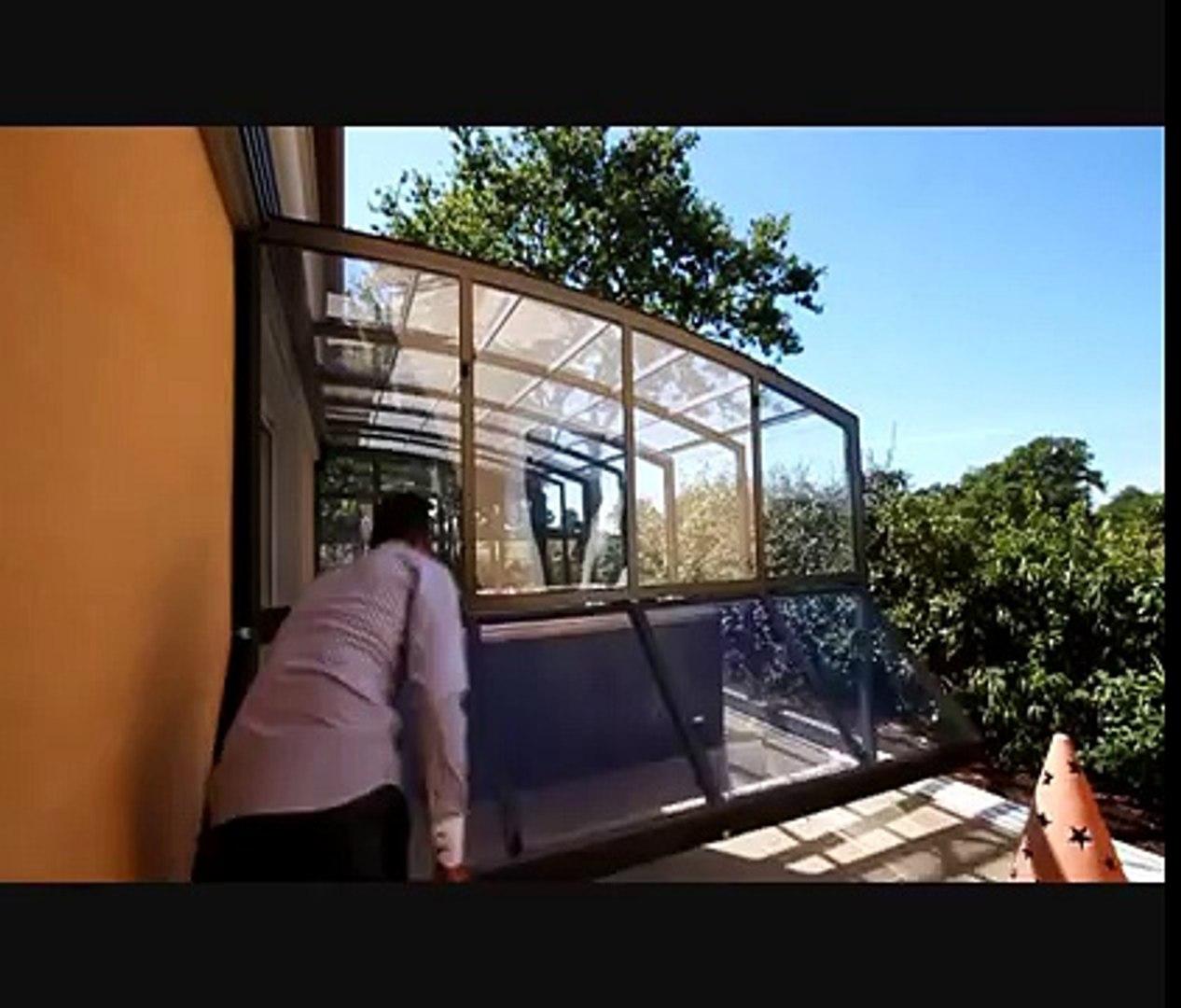 Abri Veranda Pour Spa veranda retractable sesame : verando spa