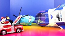 Disney Pixar Cars Paw Patrol Car McQueen Marshall Chase Rescue Toy Story Buzz Lightyear Fi