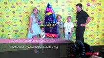 Exclu Vidéo : Britney Spears : strass, paillettes et décolleté pour les Teen Choice Awards 2015