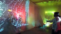 To Live To Love - immersive psychedelic video art installation by Russ RuBert