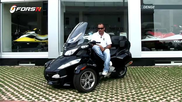 Can-Am Spyder RT test