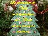 Fabriquer calendrier de l'avent ou calendrier de Noël avec les enfants