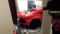 KSI Gets Pranked - Destroying A Lamborghini Aventador - Pranks on People - Funny Videos 2015