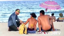 Having SEX on the Beach with HOT Girls! (PRANKS GONE WRONG) - SEXY ASS & BOOBS - Funny Pranks 2015