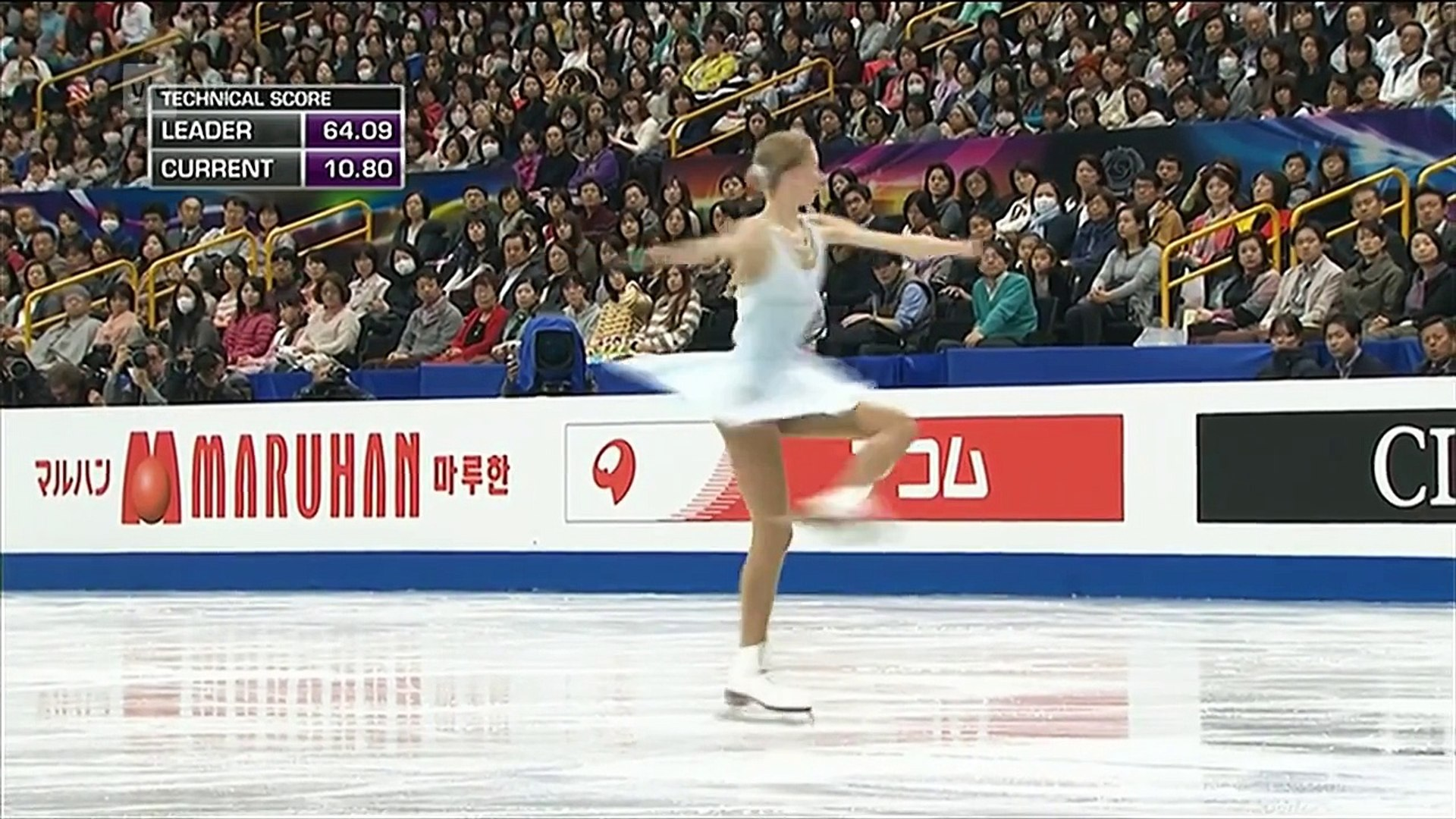 Polina Edmunds - 2014 World Figure Skating Championships - Free Skating