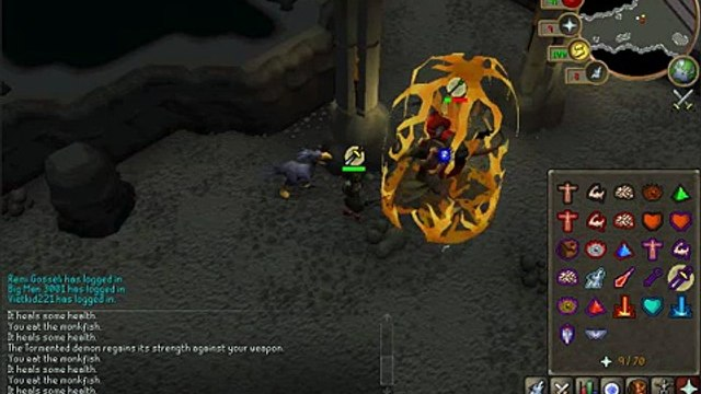 Runescape Tormented Demons Solo - Dragon Claws Drop - HQ -
