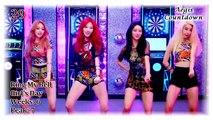 Aegis' Top 30 Jpop/Kpop Countdown: August Week 3