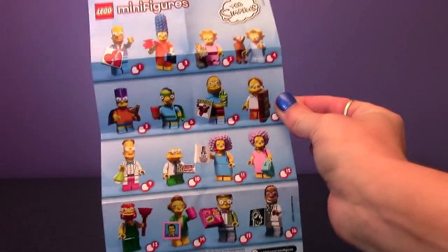 Simpsons%20Lego%20-%20collectable%Simpsons Lego - collectable Minifigure Series (simpsons 2) part 1 Review