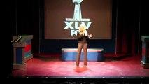 Christina Aguilera National Anthem Parody