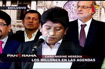 Caso Nadine Heredia: las agendas entregadas (2/2)