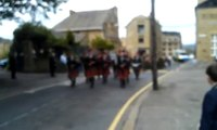 Lord Mayor of Bradford's Civic Service: Pipes and drums at the end of the Lord Mayor's procession