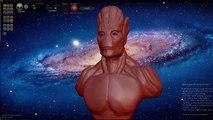 "Speed Sculpt GUARDIANS OF THE GALAXY ""GROOT"""