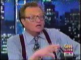 Larry Flynt, Jerry Falwell on Larry King live 1996 interview 3/4