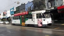 Trains and trams at the Kooyong tram square - Metro Trains & Yarra Trams