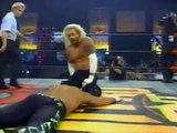 WCW DDP vs Kanyon & Flock, Goldberg saves, Nitro 05/10/1998