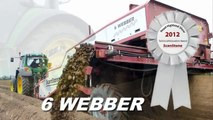 ScanStone Stone Separator / De-Stoner / Rock Picker / Stone picker (6 Webber)