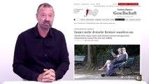 """ An interesting comparison about the migrant crisis "" Press Review Alex Taylor 18 août"
