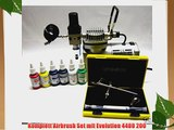 Komplett Airbrush Set mit Evolution 4400 200