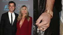 Married Justin Theroux Displays Wedding Ring From Jennifer Aniston