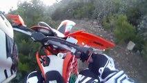moto enduro ballade autour de rodès 66