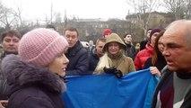 Ukraine supporters Odessa demo March 3
