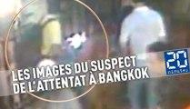 Attentat à Bangkok: Les images du suspect