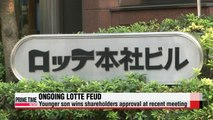 Lotte Group family feud far from over