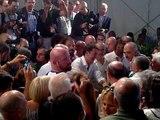 Matteo Renzi candidato alle Primarie del PD alla Festa Democratica di Firenze